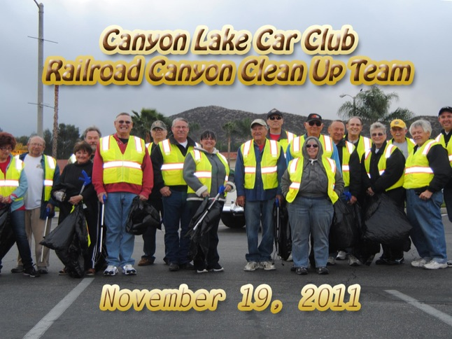 Car Club holds its 20th clean-up day on RRCR