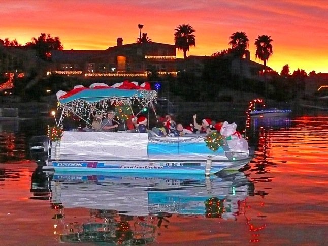 Boaters get prepared – parade is two weeks away