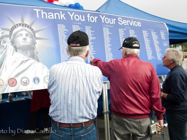Ceremony unites community to honor vets