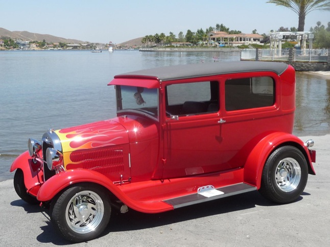 Club News: Hans Weg's 1929 Model-A is Car of the Month