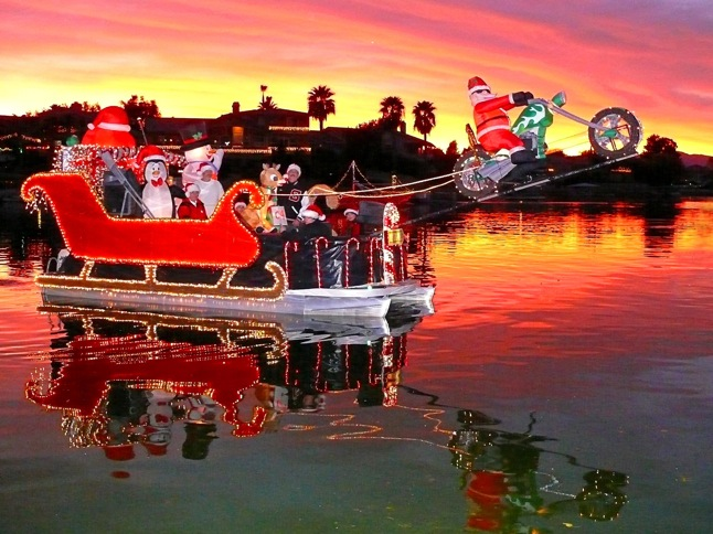 Parade of Lights to cruise waterways Saturday evening