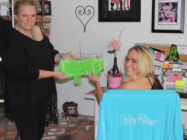 Mother/daughter duo creates successful line of bikinis