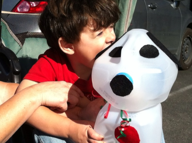 Make a Snoopy craft at Farmers Market
