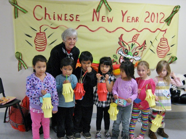 Chinese New Year was subject of Story Time at the Library