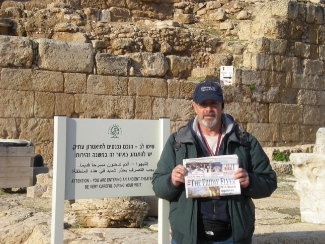 Near and Far with The Friday Flyer:  The Harrolds in Israel