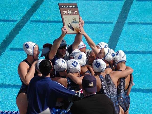 Announcement: TCHS Girls Water Polo win CIF again