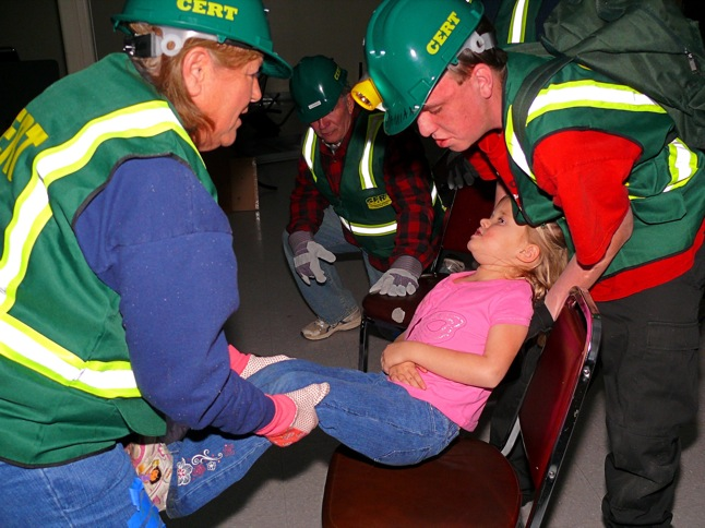 CERT training to be offered next week