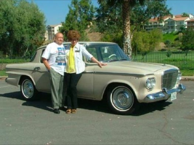 Masson's Studebaker named Car Club's Car of the Month