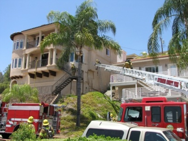 House fire provides lessons in fire response
