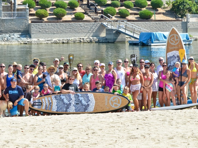 Canyon Lakers paddled and pedaled last Saturday