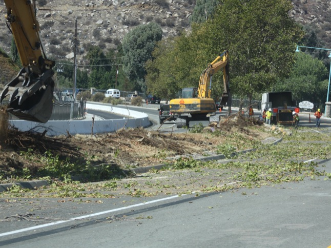 Railroad Canyon Rd. construction changes lanes