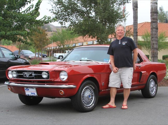 Lee Norris' '66 Mustang selected Car of the Month