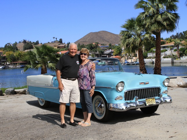 Theodoras' 1955 Chevy is Car of Month
