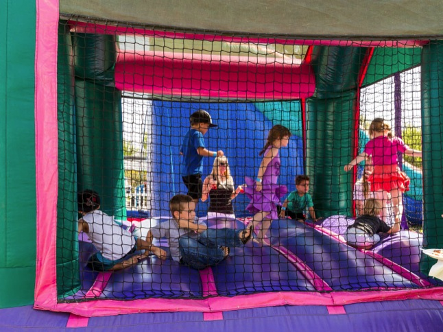 Kid Zone provides fun for younger crowd