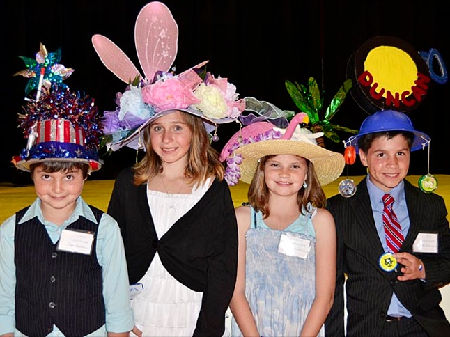Cotillion kids show off their style