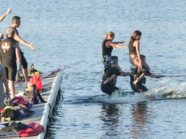 Show Ski training comes to Canyon Lake