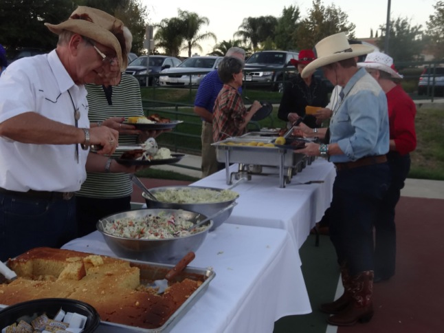 Barbecue and Hoedown brings out the ol' west