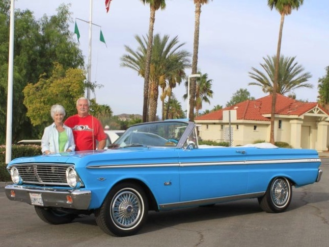Frances' '65 Ford Falcon is Car of the Month