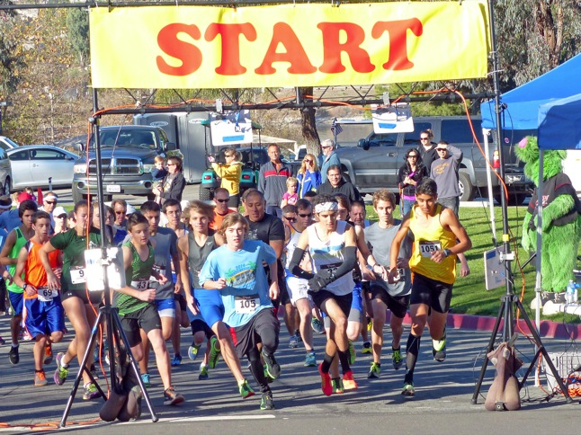 'Fit Community' races under clear skies