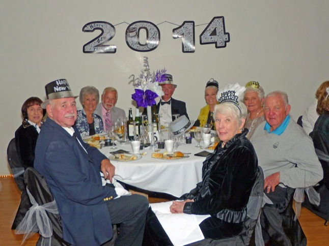 Seniors Ring In the New Year