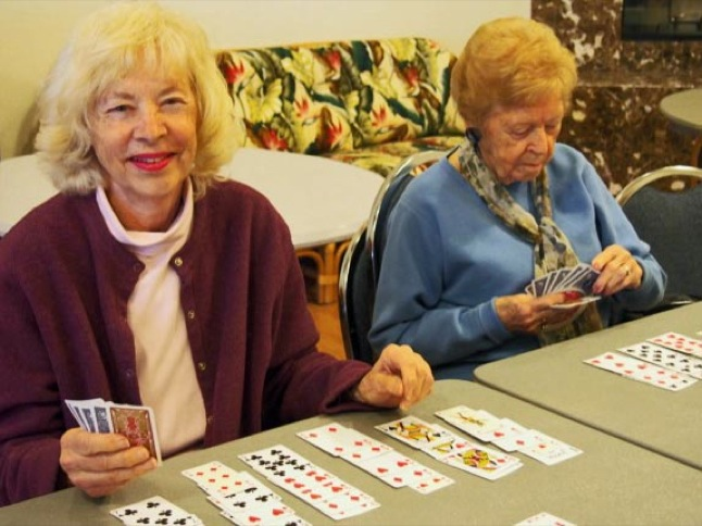 Senior Center is a busy place for seniors