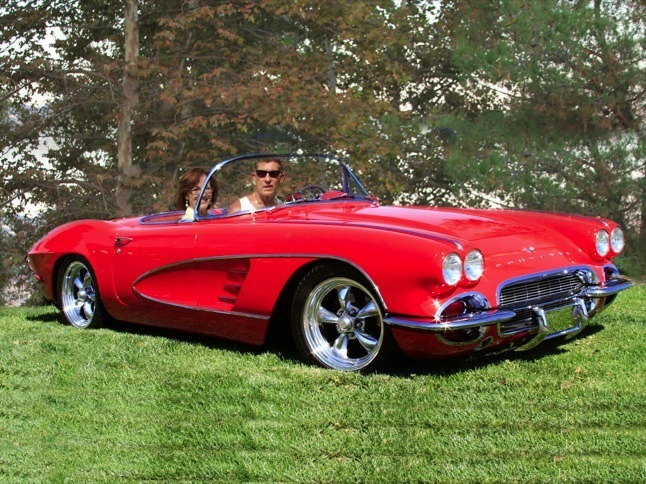 Landins' 1961 Corvette is Car of the Month