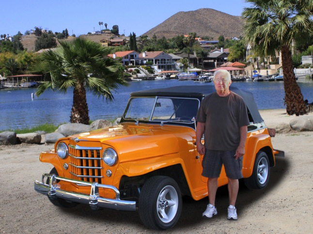 Ed Stutler's 1950 Jeepster is 'Car of Month'