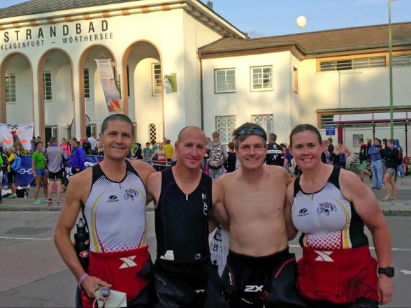 Four CL triathletes compete in Ironman Austria