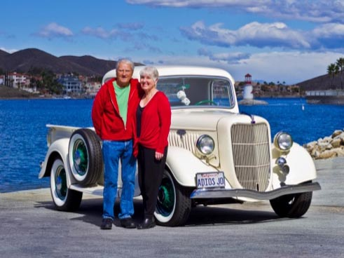 Terrys' 1935 Ford Truck is Car of Month