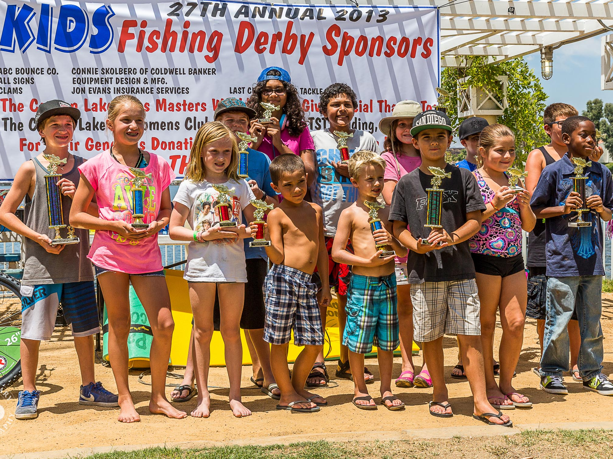 It's time for the Kids Fishing Derby!