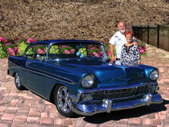 Shandle's 1956 Bel Air is Car of the Month