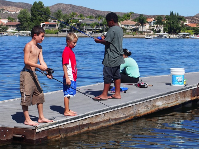 Junior anglers fish for fun, compete for prizes