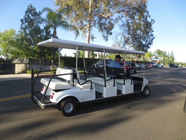 Golf cart shuttle offered at Taco Tuesday