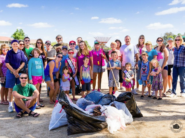 Volunteers take 30 minutes to clean up Indian Beach