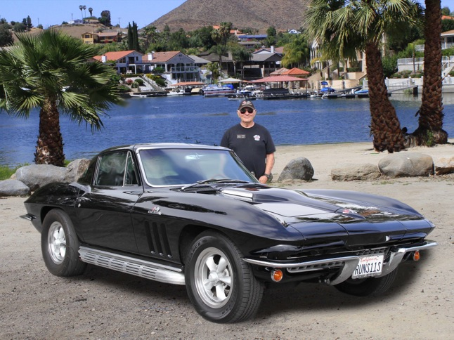 Buote's '66 Stingray is Car of the Month