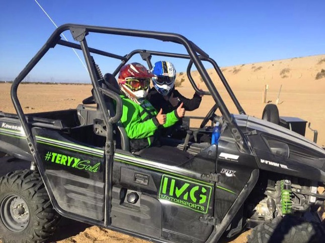 Teryx Girls Sara Price, Erica Sacks set to race