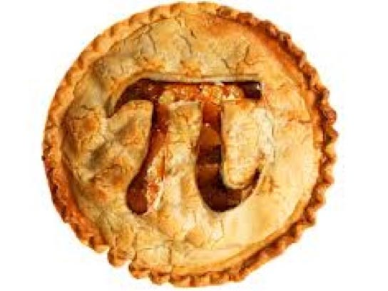 Pi or Pie? Saturday's date answers the question
