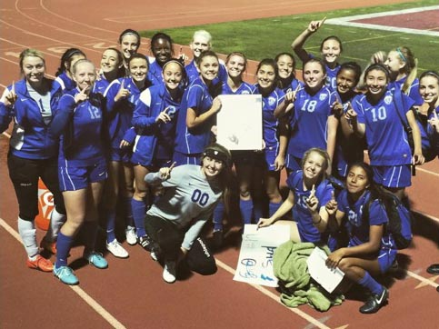 TCHS Girls Soccer is CIF-Southern Section Div. 6 Champion