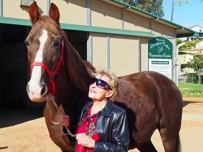 A woman and her horse – nine decades of passion