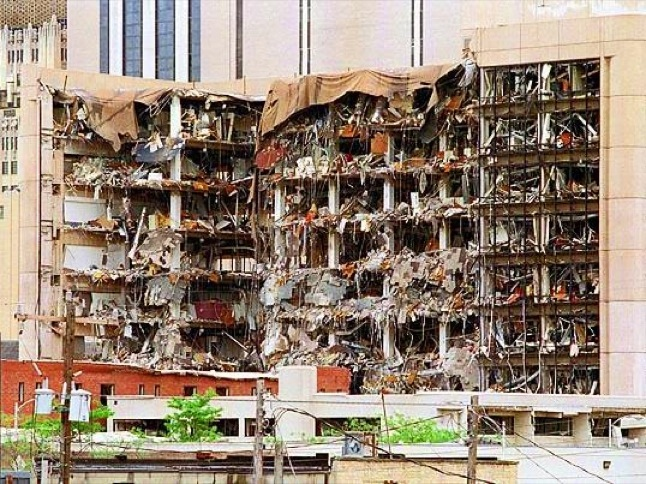 Oklahoma City bombing remembered on 20th anniversary