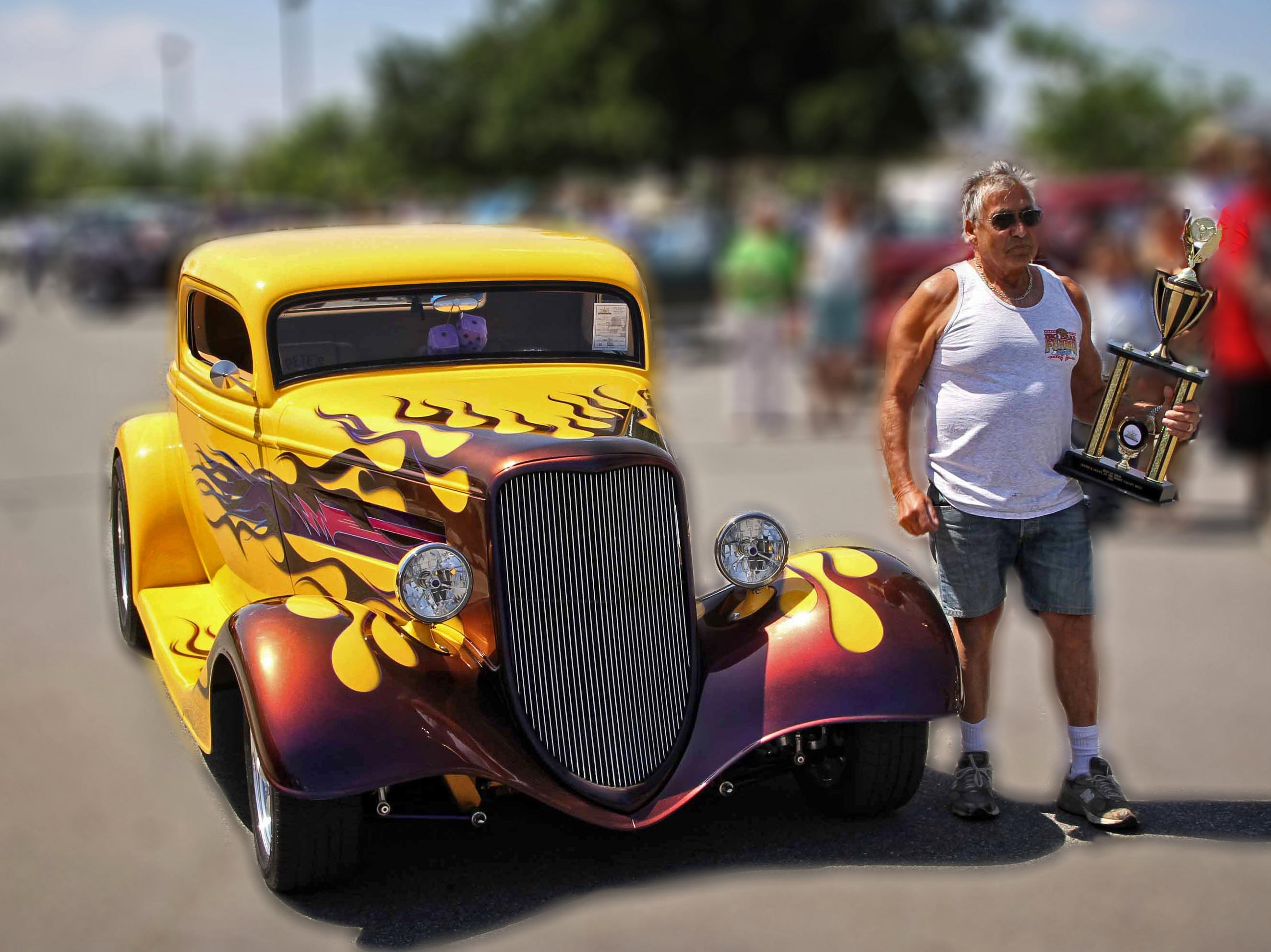 Delia's 1934 Ford is Car of the Month