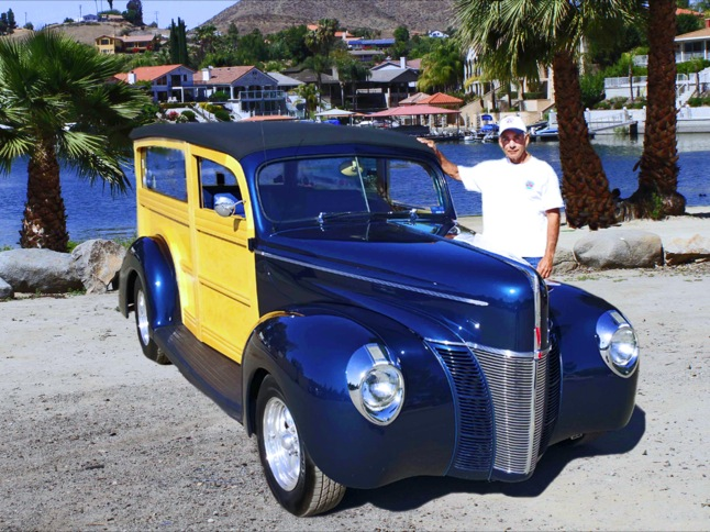 McCoy's 1940 Ford 'Woody' is Car of the Month