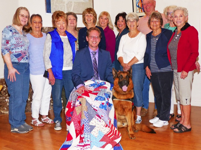 'Quilt of Valor' recognizes soldier's service