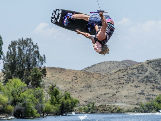 Wakeboard pros exhibit their skills at Learn to Ride Day