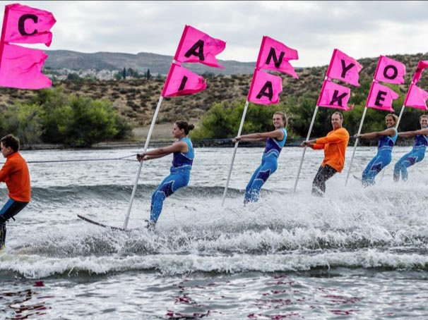 Check out these weekend waters sports opportunities and Ski Show photos