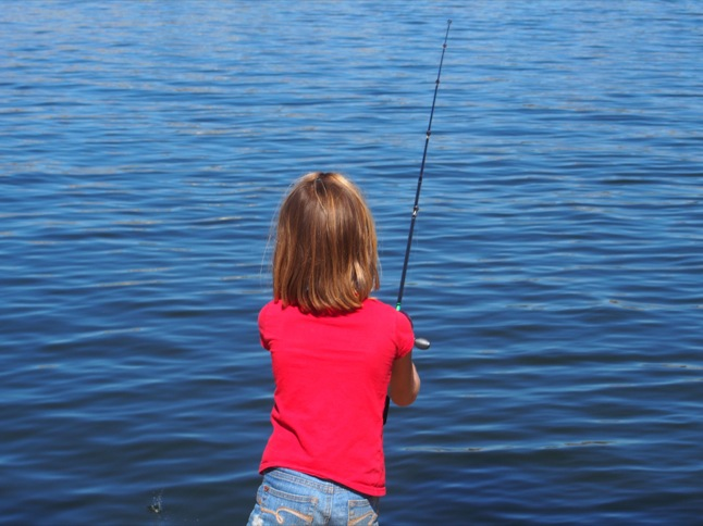 Time to go fishing at next week's Kids Fishing Derby
