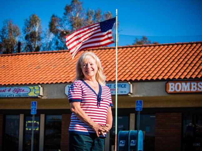 Debby Gagnon: still packing, wrapping and posting after 20 years as official U.S. Post Office