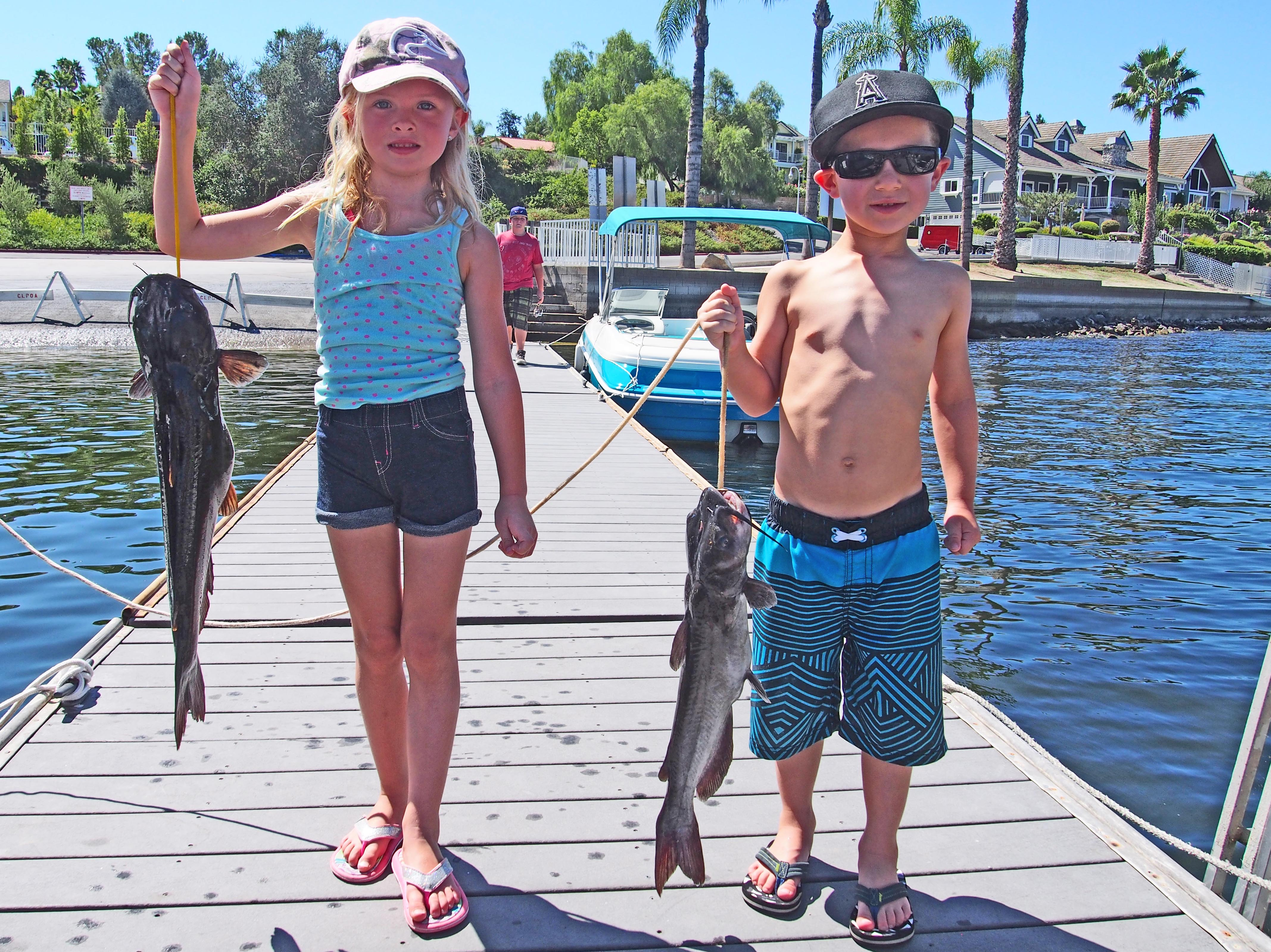 Young anglers reel in fish, trophies, prizes