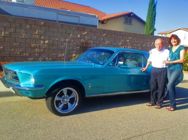 Debbie Morton's '67 Mustang is Car of the Month