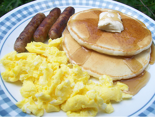 Enjoy pancakes and sausage Sunday at Lions Club Breakfast